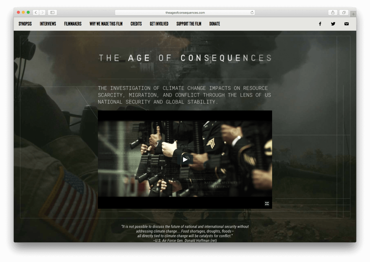 Screenshot from TheAgeOfConsequences.com